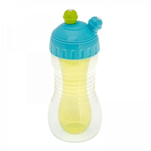 Brother Max - Dual Drink Combination Kids Smart Sports Bottle - Turquoise/Green